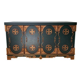 Vintage Custom Made Italian Style Credenza For Sale
