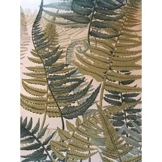 "Boho Chic Cowtan & S Tout ""Belle Grove"" Screen Print Cotton Chintz Fabric - 1 1/2 Yards For Sale"