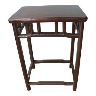 Chinese Antique Elmwood Tea Table
