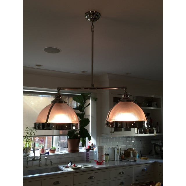 Restoration Hardware Light Fixture Sale: Restoration Hardware Double Pendant Light Fixture