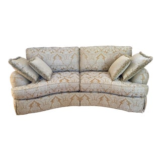 Ferguson Copeland Curved Savannah Sofa For Sale