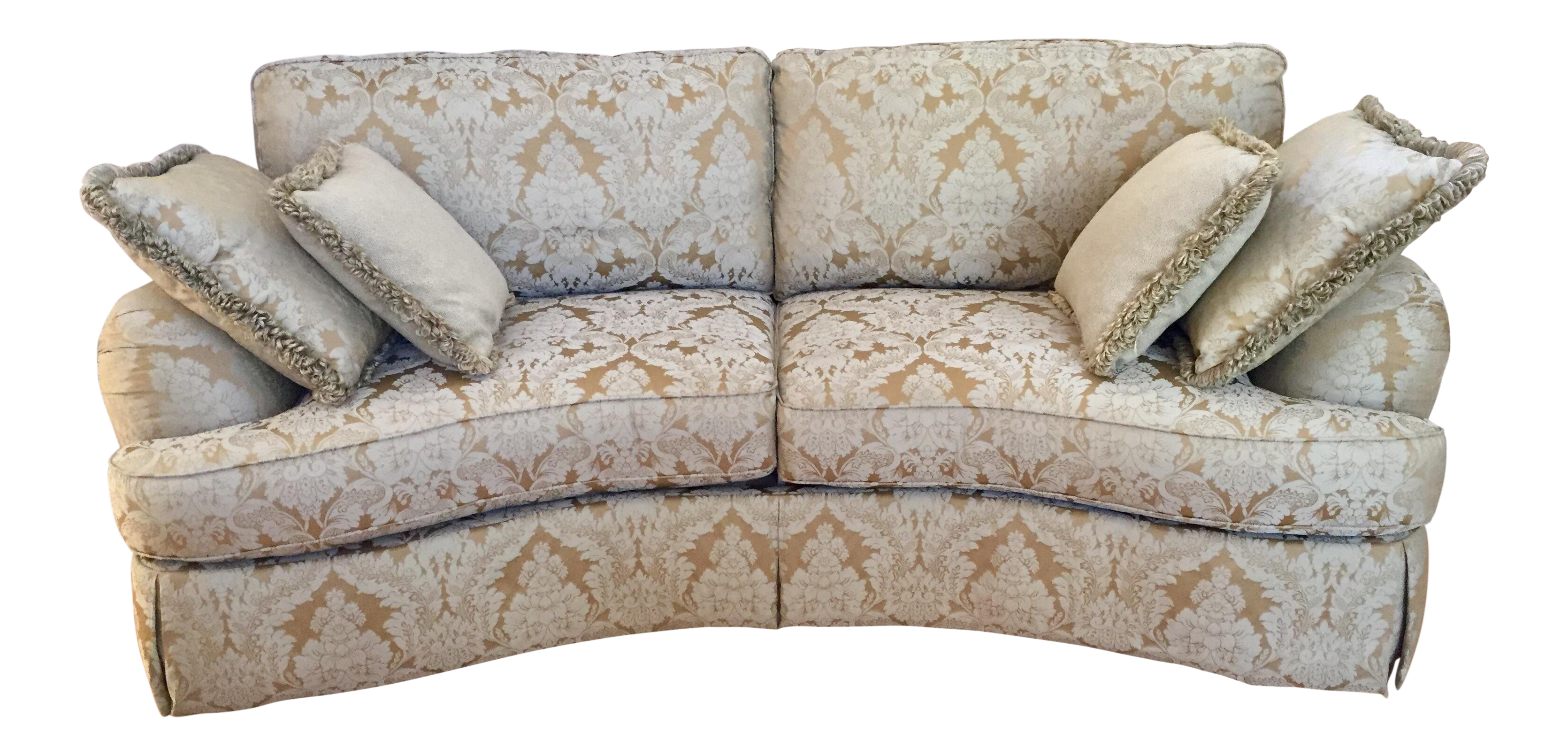 Beau Ferguson Copeland Curved Savannah Sofa