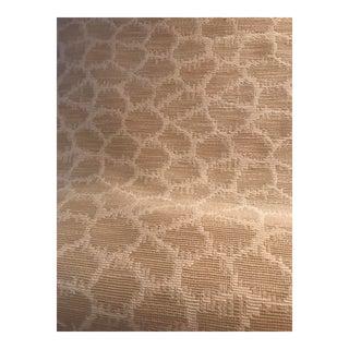 Cowtan & Tout Knit Giraffe Print Fabric - - 4 3/8 Yards Already Backed For Sale