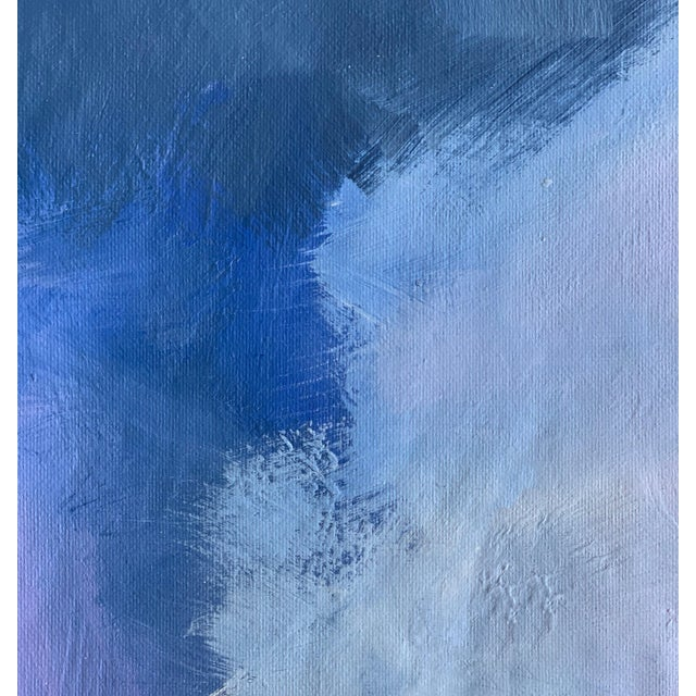 """""""Abstract Lavender Bloom"""" - Framed Print 32x48 For Sale - Image 4 of 8"""