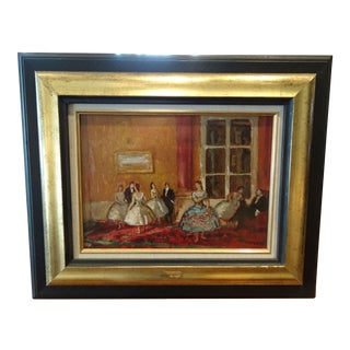 Oil on Board by Marcel Cosson For Sale