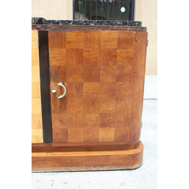 French Art Deco Palisander and Sycamore Buffet / Sideboard By Tricoire Circa 1930s - Image 8 of 11