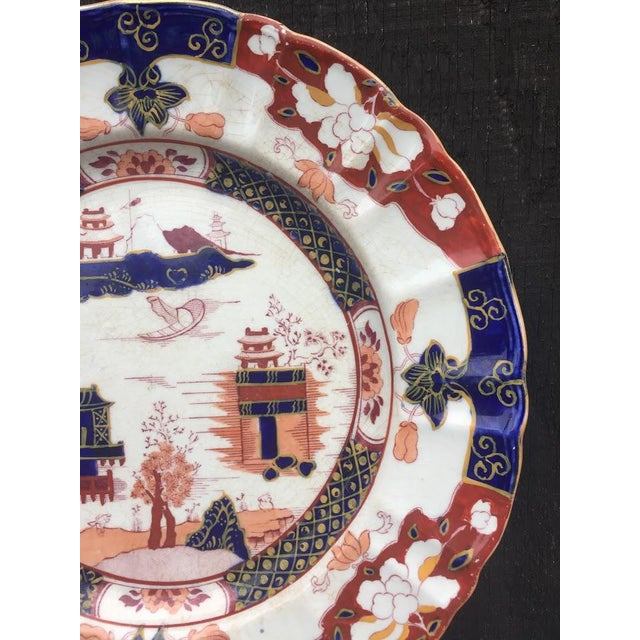 Mason's Ironstone England Plate For Sale - Image 5 of 8