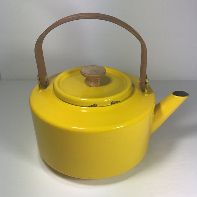 Copco Mid-Century Tea Kettle For Sale - Image 4 of 9