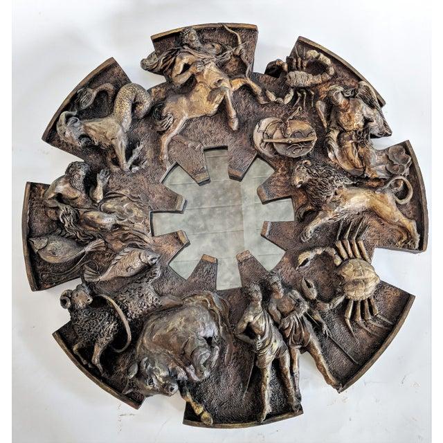 Bu Finesse Originals Zodiac Wall Mirror For Sale - Image 13 of 13