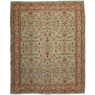 "RugsinDallas Vintage Turkish Kilim - 10'2"" X 12'10"" For Sale"