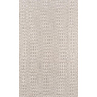 """Erin Gates Newton Davis Beige Hand Woven Recycled Plastic Area Rug 3'6"""" X 5'6"""" For Sale"""