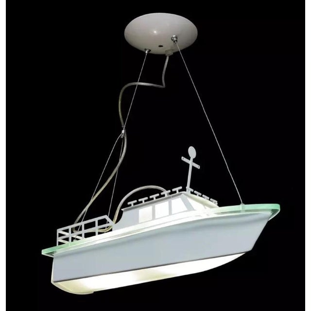 Modern Boat Light Fixture - Image 2 of 3