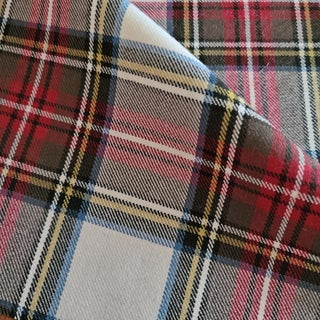 Ralph Lauren Wool Plaid Designer Fabric by the Yard For Sale
