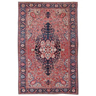 Antique Feraghan Sarouk Rug For Sale