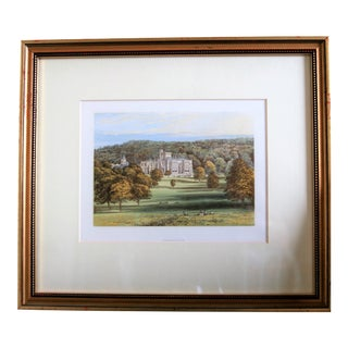 1880 English Traditional Estate Print For Sale
