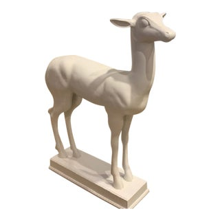 Henredon Bilhuber Collection Stag Sculpture For Sale