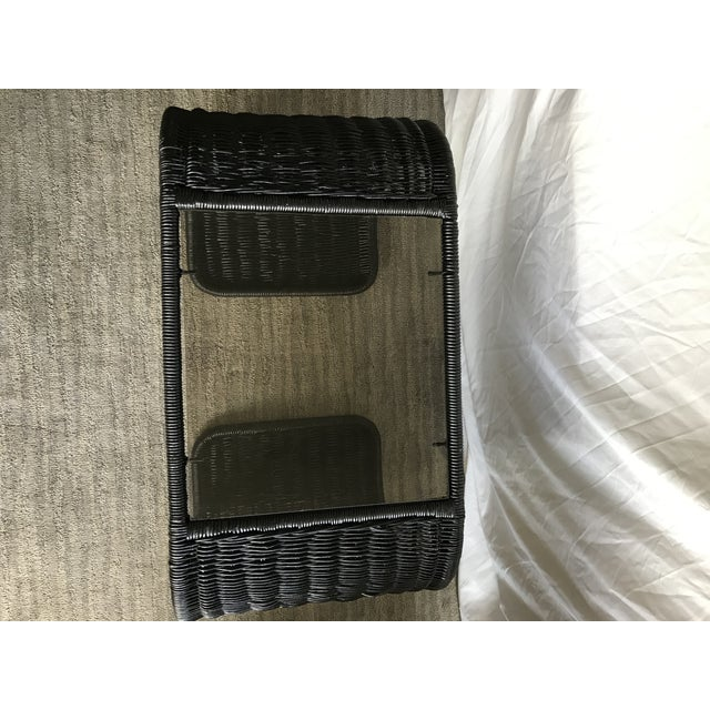 Mid Century Waterfall End Tables For Sale - Image 9 of 10