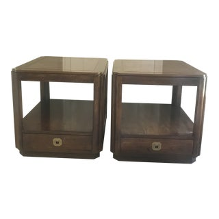 Drexel End Tables Nightstands - a Pair For Sale