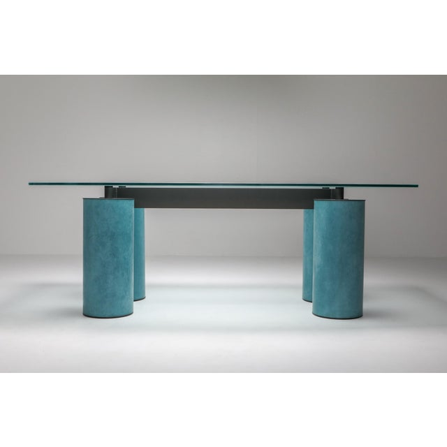 1970s Massimo Vignelli 'Serenissimo' Dining Table/Desk for Acerbis For Sale - Image 11 of 13
