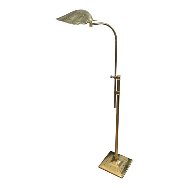 Brass Shell Reading Lamp For Sale