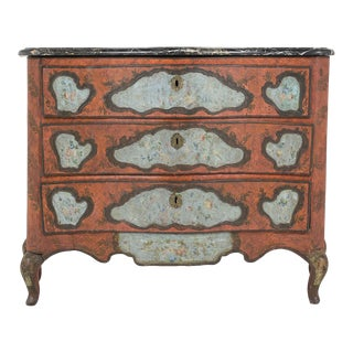 Late 18th Century Polychrome Chest of Drawers For Sale