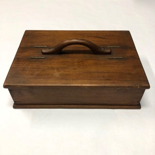 Early 20th Century Antique Handmade Pine Box Preview