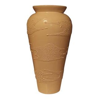 Vintage White Haeger Pottery Vase