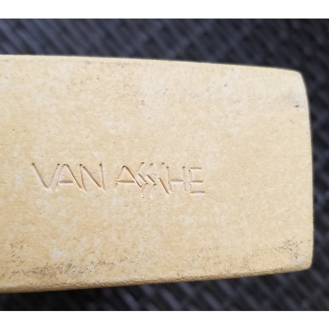 Van Assche Geometric Modernist Candleholder - Image 6 of 6