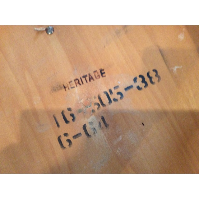 Heritage Teak Hexagon Side Table - Image 6 of 6