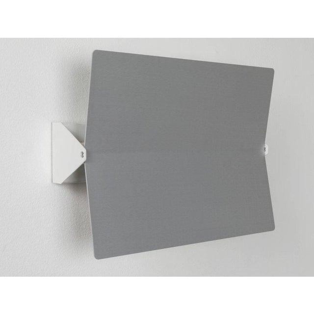 Metal Large Charlotte Perriand 'Applique à Volet Pivotant Plié' Wall Light in Aluminum For Sale - Image 7 of 8