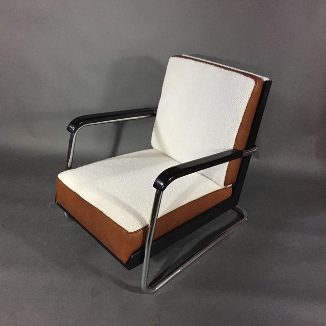 "1980s Pauli Blomstedt ""Adelta"" Armchair, Finland Designed 1930s For Sale - Image 5 of 11"