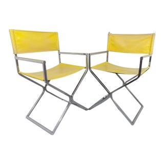 Robert Kier Jakobsen Director's Chairs - A Pair