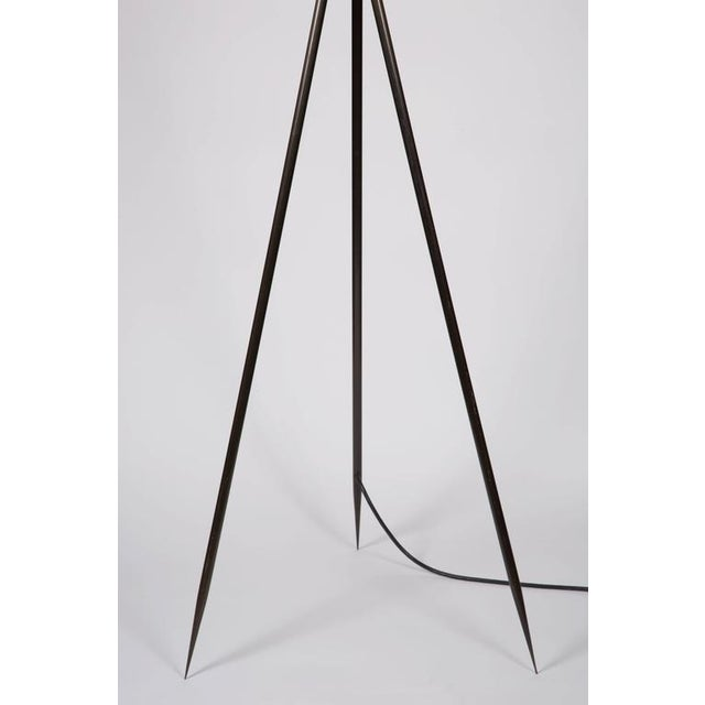 Monumental Bronze Floor Lamps - Image 6 of 6