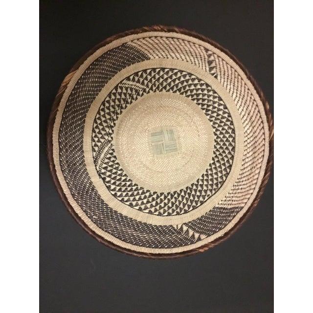 Binga Basket | Tonga Baskets 42 |African Basket | Woven Basket |Zimbabwe Basket |Ethnic Pattern |Ethnic Decor |Wall Hanging Basket - Image 6 of 6
