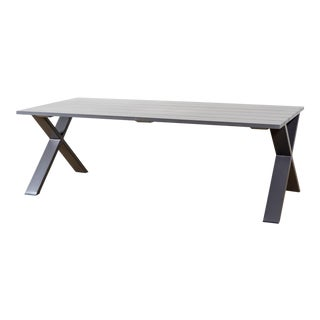 Outdoor Bronze Finish Get-Together Table For Sale