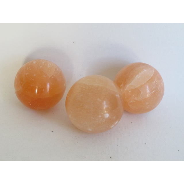 Pink Calcite Spheres - S/3 - Image 4 of 7