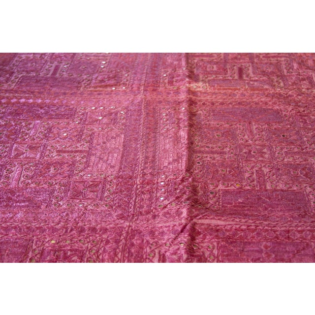 Lilac Sheesha Coverlet For Sale - Image 4 of 8