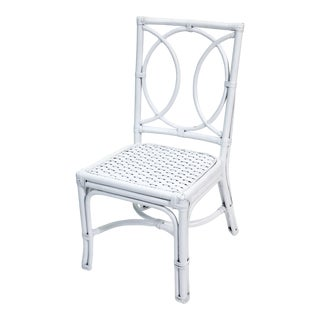 Lauren Side Chair, White For Sale