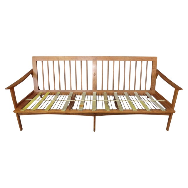 Danish Modern Lounge Sofa Frame - Image 1 of 4