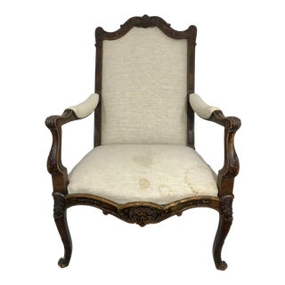 19th Century Walnut Chair For Sale