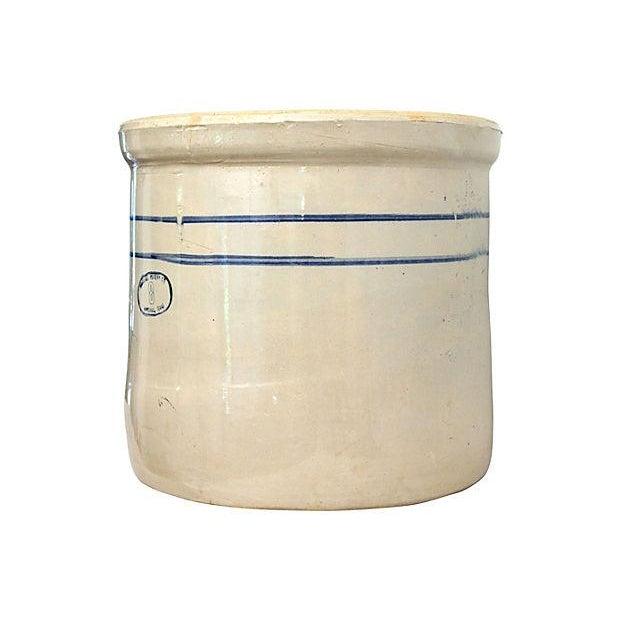 Marshall Studios Glazed Pottery Crock Planter - Image 1 of 7