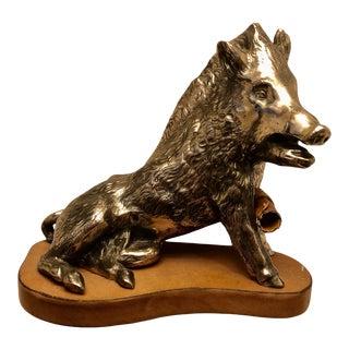 1970s Italian Good Luck Boar For Sale