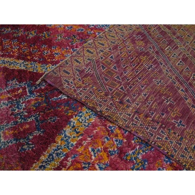 Beni Mguild Moroccan Berber Carpet For Sale - Image 10 of 10