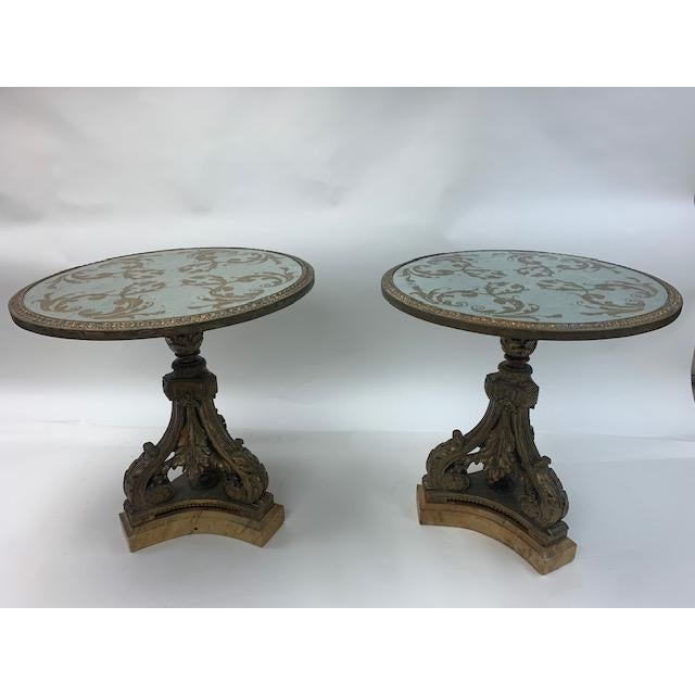 Maison Jansen Gueridon Style Tables - a Pair For Sale - Image 11 of 11