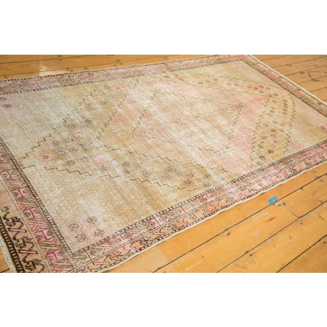 "Vintage Distressed Khotan Rug - 4'7"" x 8'9"" - Image 4 of 10"
