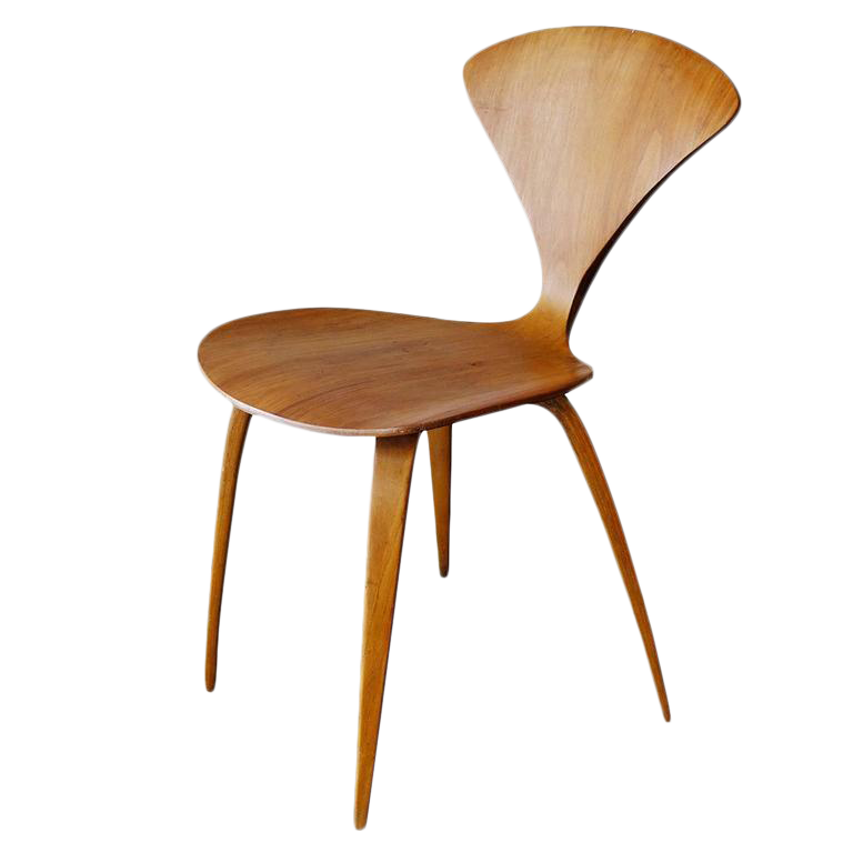 Plycraft Sculptural Dining Chairs By Norman Chernerral For Sale
