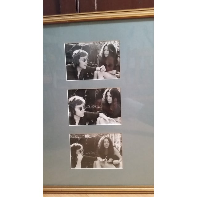 In 1972 a photographer for Rock Magazine did a photo shoot with John Lennon and Yoko Ono. There were several that were...