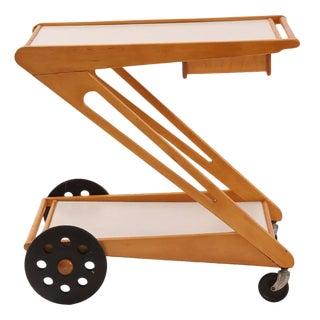 Rare Cees Braakman for Pastoe Bar or Tea Cart
