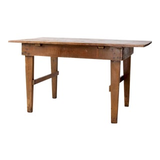 Antique Baker's Table For Sale