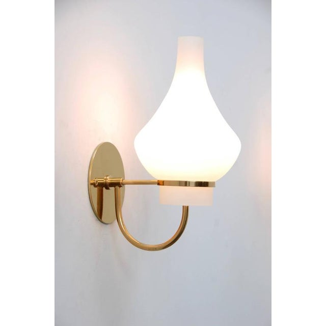 Modern Italian 1950s Sconces - Image 4 of 9